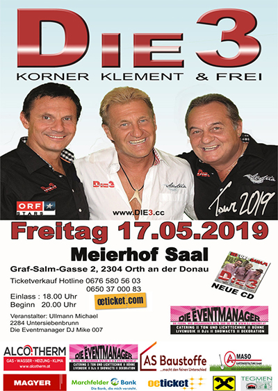 Orth an der Donau Events ab 26.05.2020 Party, Events